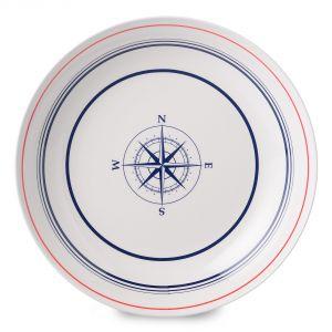 Rosti mepal 6 assiettes à dessert Flow Compass en mélamine (23 cm)