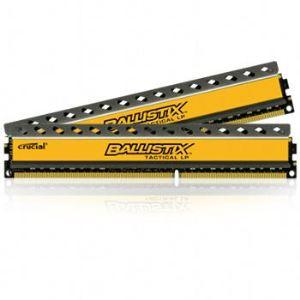 Crucial BLT2C4G3D1608ET3LX0CEU - Barrettes mémoire Ballistix Tactical 2 x 4 Go DDR3 1600 MHz Dimm 240 broches