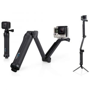 GoPro Fixation 3-Way : perche + bras + trepied