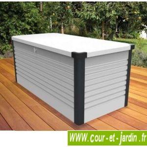 Trimetals Patiobox S - Coffre de rangement en métal 1,06 m2