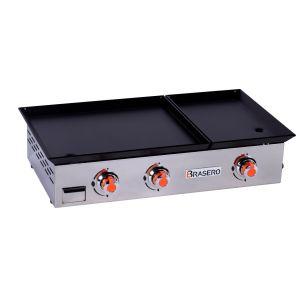 Favex Lorea 2 - Plancha au gaz plaque inox 3 feux