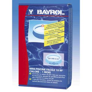 Bayrol Kit Mini piscine facile avec chlore (- de 10 m3)