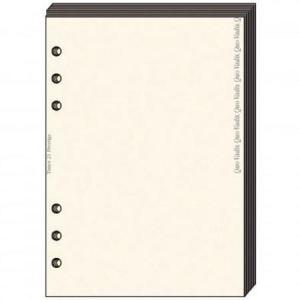 Quo Vadis 721013Q - Recharge Bloc-Notes pour Timer 17 papier ivoire