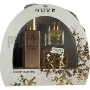 Nuxe Prodigieux - Coffret eau de parfum, huile prodigieuse et bracelet