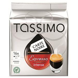 Tassimo 16 dosettes T-Discs Carte Noire Espresso intense