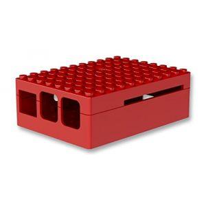 Multicomp Pi-Blox - Boitier pour Raspberry Pi 2 / Pi Model B+ (rouge)