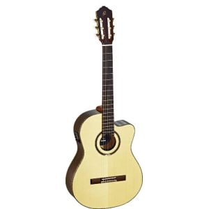 Ortega RCE158SN - Guitare classique électro-acoustique concert