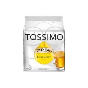 Tassimo 16 dosettes T-Discs thé Twinings Earl Grey