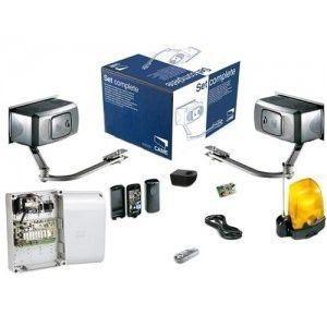 Came 001U1211 - Kit complet Ferni encodeur 230V portail 2 battants 2 émetteurs 868 MHz max 4 m