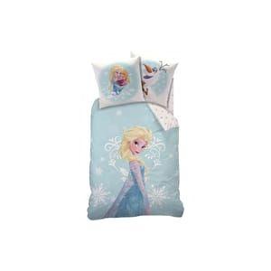 Parure de lit 3 pièces Anna & Elsa La Reine des Neiges (140 x 200 cm)