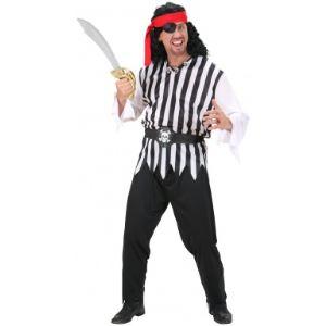 Widmann Déguisement pirate rayé homme (taille M)