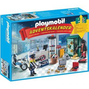 Playmobil 9007 - Calendrier de l'Avent policier et cambrioleur