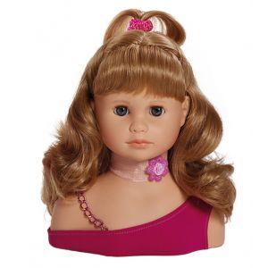 Paola Reina Tête à coiffer blonde 23 cm
