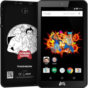 """Thomson Cyprien Gaming - Tablette tactile 7"""" 8 Go sous Android 5.0 (Lollipop)"""