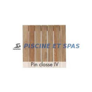 Procopi Caillebotis standard en bois 830 x 500 mm