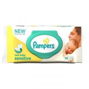 Pampers Lingettes New Baby Sensitive (1 x 50)