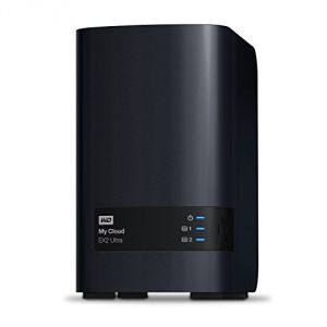 Western Digital WDBVBZ0000NCH - My Cloud EX2 Ultra Boîtier NAS Externe 2 Baies USB 3.0/Gigabit Ethernet