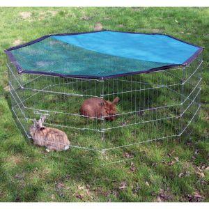 Kerbl 82708 Enclos extérieur pour animaux de compagnie octogonal