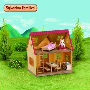 Epoch Sylvanian Families 5242 - Set cottage avec jardin