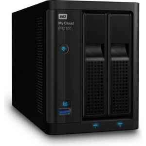 Western Digital WDBBCL0000NBK - Serveur NAS My Cloud PR2100 2 Baies Gigabit Ethernet