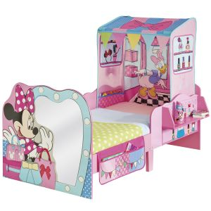 Character World Lit Minnie Mouse avec tente de jeu 70 x 140 cm