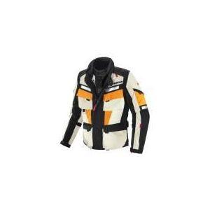 Spidi Marathon (orange) - Blouson de moto textile waterproof pour homme