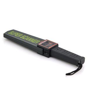 Shopinnov Détecteur de métaux à main avec alarme sonore, lumineuse et vibration