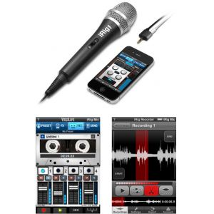 Ik multimedia IP-IRIG-MIC - Microphone à main pour iPhone /iPad