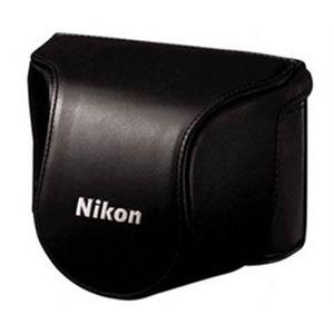 Nikon Etui en cuir pour Nikon 1 J1 et Objectif 10-30mm (CB-N2000)