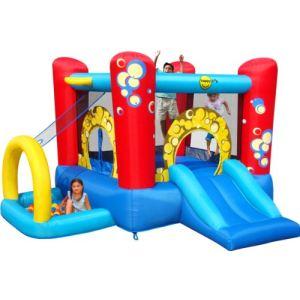 Happy Hop Aire de jeux gonflable Bubble 4 en 1
