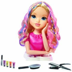 Giochi Preziosi Tête à coiffer Moxie Girlz - Magic Hair : Sophina ou Lexa ou Avery (modèle aléatoire)
