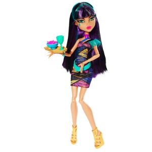 Mattel Monster High Cleo de Nile à la cafétéria