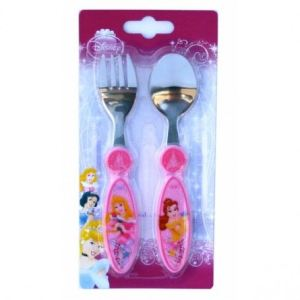 Spel 000424 - Set de 2 couverts Disney Princesse
