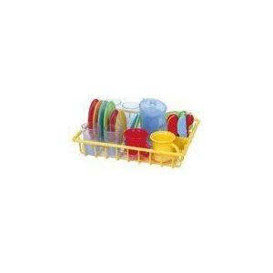Playgo Égouttoir et vaisselle (30 pièces)