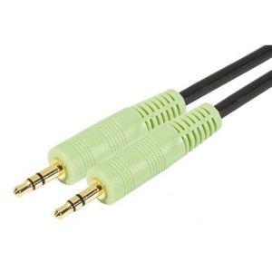 Abix 108889 - Cordon audio jack 3,5 m/m 1,8m