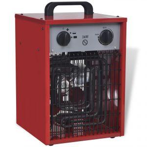 VidaXL 141957 - Radiateur soufflant électrique industriel portable 3000 Watts