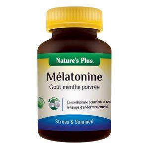 Nature's Plus Melatonine - 30 pastilles secables