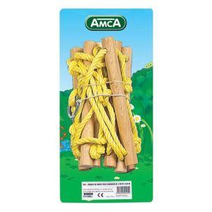 Amca 423 - Echelle de corde pour portique 2,25 / 2,50 m