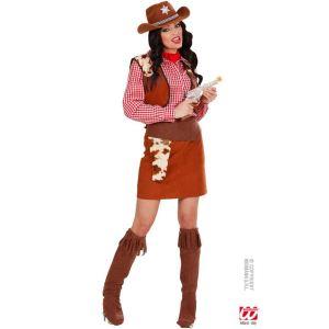 Widmann Déguisement de cowgirl adulte