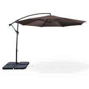 Alice's Garden Hardelot - Parasol déporté rond Ø 350 cm