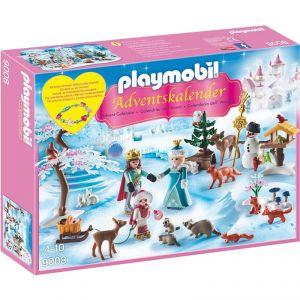 Playmobil 9008 - Calendrier de l'Avent Famille royale en patins à glace