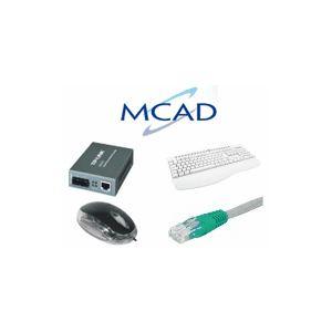 MCAD Baie Serveur 600 x 900 32U Grise