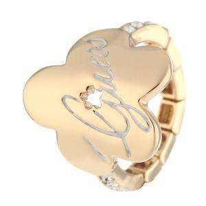 Guess UBR11105 - Bague pour femme ajustable en métal doré