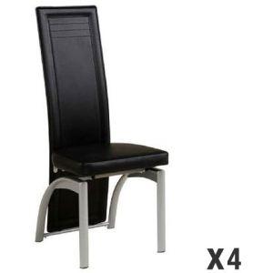 Chaise salle a manger noir comparer 859 offres for Salle a manger urban