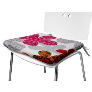 Soleil d'Ocre 5593 - Dessus de chaise Margot (3 x 40 x 40 cm)