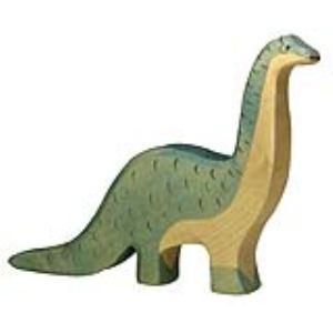 Holztiger Figurine dinosaure : Brontosaure en bois