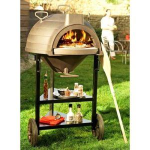 Invicta Lo Goustaou - Barbecue charbon sur chariot