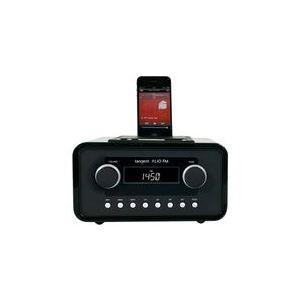 Tangent Alio Mono - Poste radio portable CD-MP3 avec station d'accueil pour IPod/IPhone