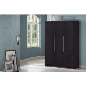 armoire chambre wenge comparer 117 offres. Black Bedroom Furniture Sets. Home Design Ideas