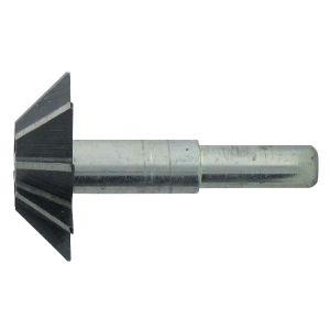 SCID 1155 - Fraise acier au carbone à chanfreiner 45° Diamètre 35 mm Longueur 10 mm